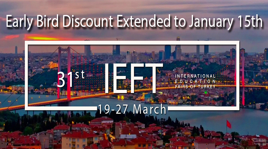Early Bird Discount Extended to January 15th