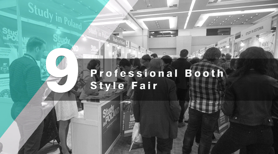 Professional Booth Style Fair